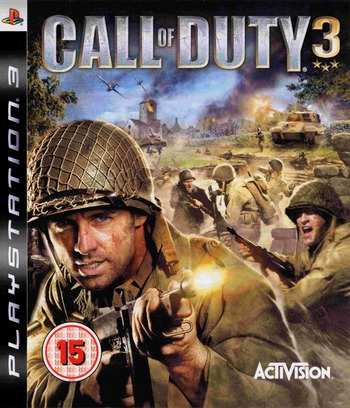 Call of Duty 3 PS3 coverM (BLES00021)