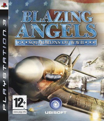 Blazing Angels: Squadrons of WWII PS3 coverM (BLES00023)