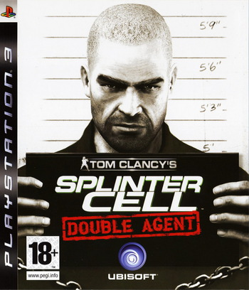 Tom Clancy's Splinter Cell: Double Agent PS3 coverM (BLES00024)