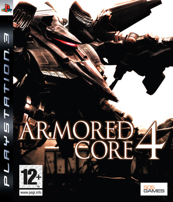 Armored Core 4 PS3 coverM (BLES00039)