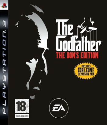 The Godfather: The Don's Edition PS3 coverM (BLES00045)