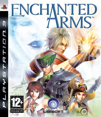 Enchanted Arms PS3 coverM (BLES00049)
