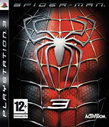 Spider-Man 3 PS3 coverM (BLES00055)