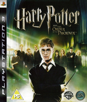 Harry Potter and the Order of the Phoenix PS3 coverM (BLES00071)