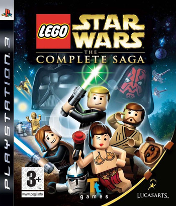 LEGO Star Wars: The Complete Saga PS3 coverM (BLES00121)