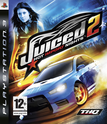 Juiced 2: Hot Import Nights PS3 coverM (BLES00143)