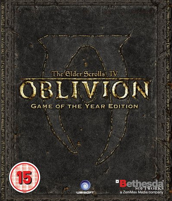 The Elder Scrolls IV: Oblivion - Game of the Year Edition PS3 coverM (BLES00163)