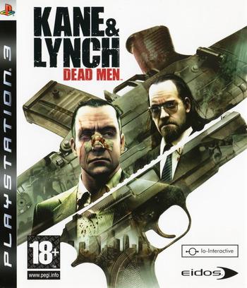 Kane & Lynch: Dead Men PS3 coverM (BLES00167)