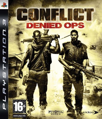 Conflict: Denied Ops PS3 coverM (BLES00182)