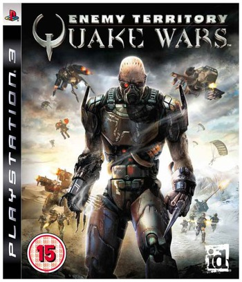Enemy Territory: Quake Wars PS3 coverM (BLES00184)
