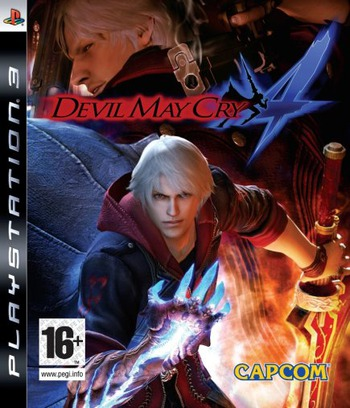 Devil May Cry 4 PS3 coverM (BLES00186)