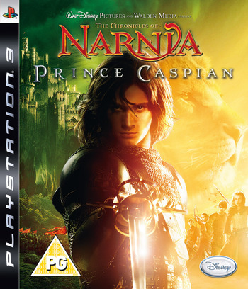 The Chronicles of Narnia: Prince Caspian PS3 coverM (BLES00251)
