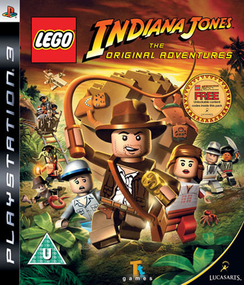 LEGO Indiana Jones: The Original Adventures PS3 coverM (BLES00254)