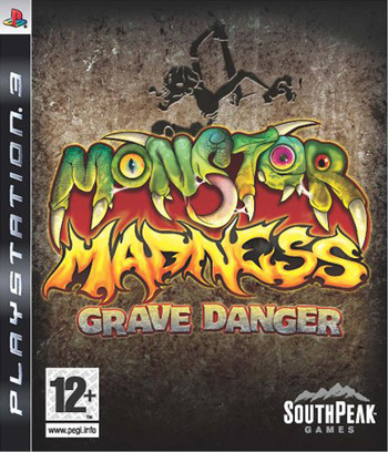 Monster Madness: Grave Danger PS3 coverM (BLES00255)