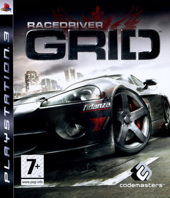 Race Driver Grid PS3 coverM (BLES00256)