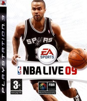 NBA Live 09 PS3 coverM (BLES00302)