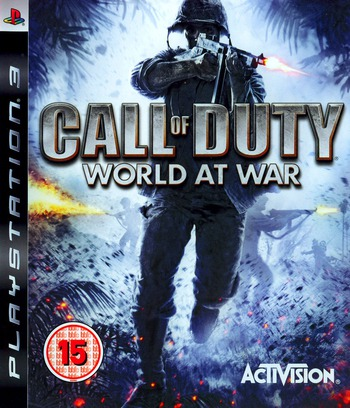 Call of Duty: World at War PS3 coverM (BLES00354)
