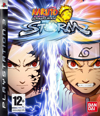 Naruto: Ultimate Ninja Storm PS3 coverM (BLES00371)