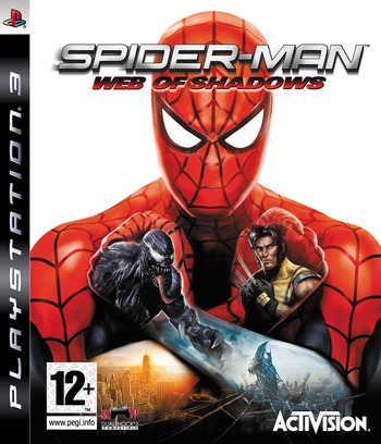 Spider-Man: Web of Shadows PS3 coverM (BLES00392)