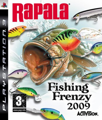 Rapala Fishing Frenzy 2009 PS3 coverM (BLES00401)