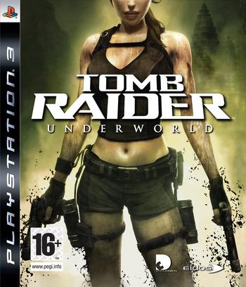 Tomb Raider: Underworld PS3 coverM (BLES00409)