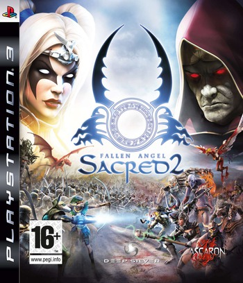 Fallen Angel Sacred 2 PS3 coverM (BLES00410)