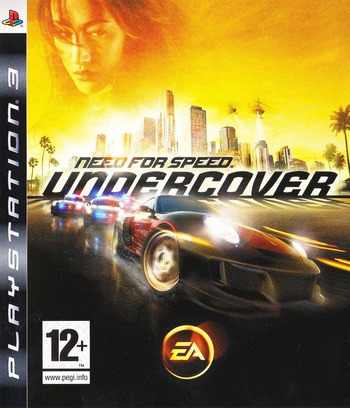 Need for Speed: Undercover PS3 coverM (BLES00450)