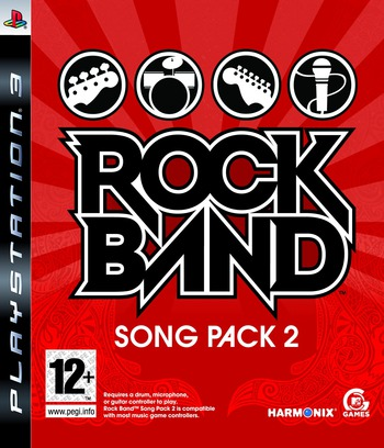 Rock Band Song Pack 2 PS3 coverM (BLES00451)