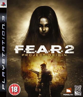 F.E.A.R. 2: Project Origin PS3 coverM (BLES00464)