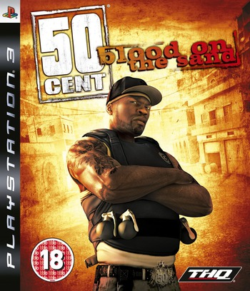 50 Cent: Blood on the Sand PS3 coverM (BLES00472)