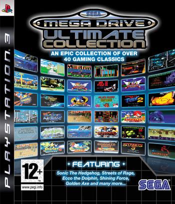 Sega Mega Drive: Ultimate Collection PS3 coverM (BLES00475)