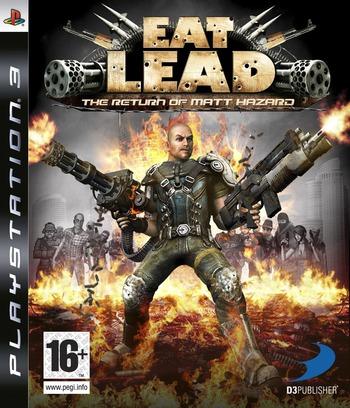 Eat Lead: The Return of Matt Hazard PS3 coverM (BLES00495)