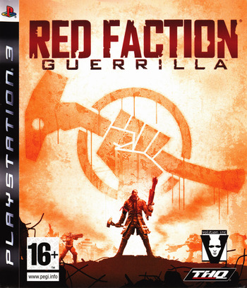 Red Faction: Guerrilla PS3 coverM (BLES00498)