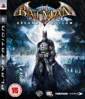 Batman: Arkham Asylum PS3 coverM (BLES00503)