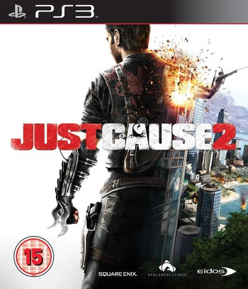 Just Cause 2 PS3 coverM (BLES00517)