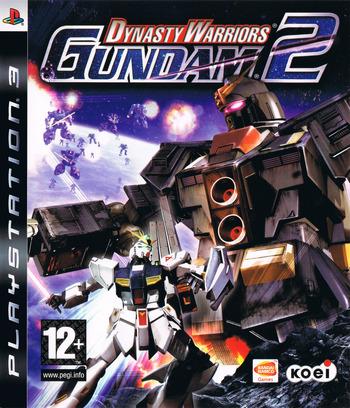 Dynasty Warriors: Gundam 2 PS3 coverM (BLES00528)
