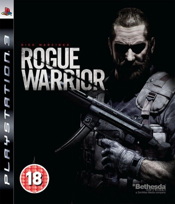 Rogue Warrior PS3 coverM (BLES00582)