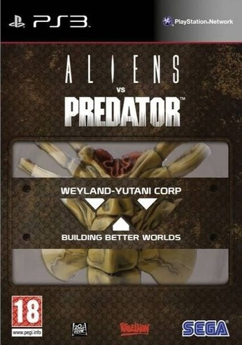 Aliens vs. Predator PS3 coverM (BLES00585)