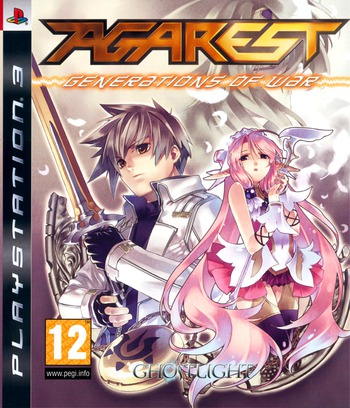 Agarest: Generations of War PS3 coverM (BLES00594)