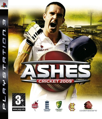 Ashes Cricket 2009 PS3 coverM (BLES00639)