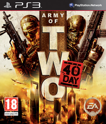 Army of Two: The 40th Day PS3 coverM (BLES00659)