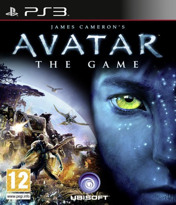 Avatar: The Game PS3 coverM (BLES00667)