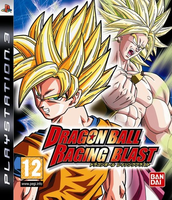 Dragon Ball: Raging Blast PS3 coverM (BLES00693)