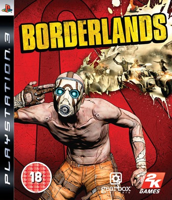 Borderlands PS3 coverM (BLES00698)