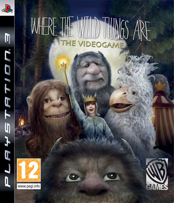 Where the Wild Things Are PS3 coverM (BLES00724)