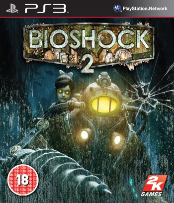BioShock 2 PS3 coverM (BLES00728)