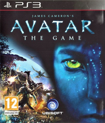 James Cameron's Avatar: The Game PS3 coverM (BLES00753)