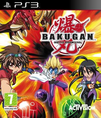 Bakugan Battle Brawlers PS3 coverM (BLES00758)
