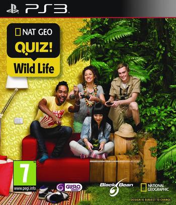Nat Geo Quiz: Wild Life PS3 coverM (BLES00769)