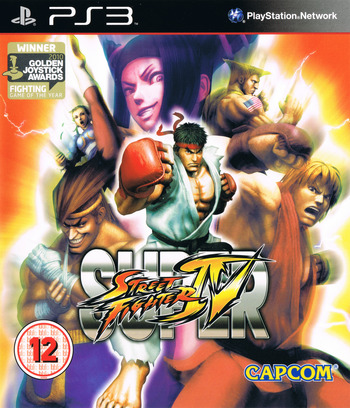 Super Street Fighter IV PS3 coverM (BLES00770)
